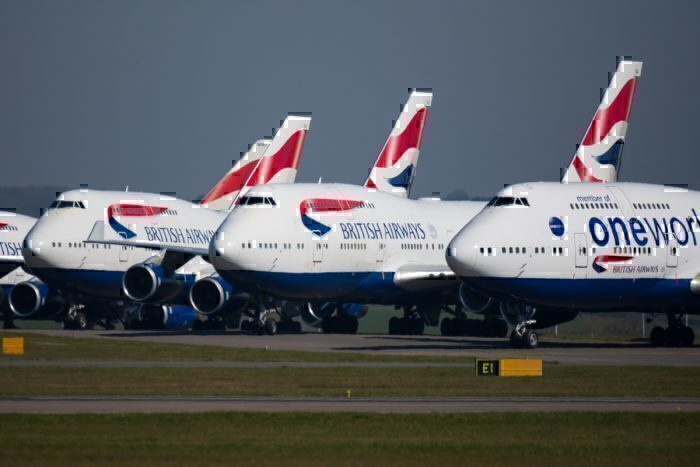 British Airways, Long Haul, Grounded