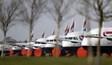 British Airways, London Gatwick, Flight Suspension