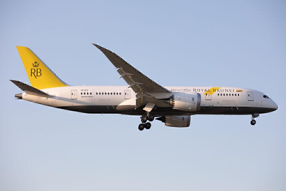 Royal Brunei Boeing 787 Getty
