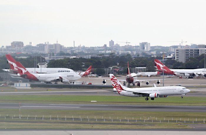 Australia Qantas Virgin
