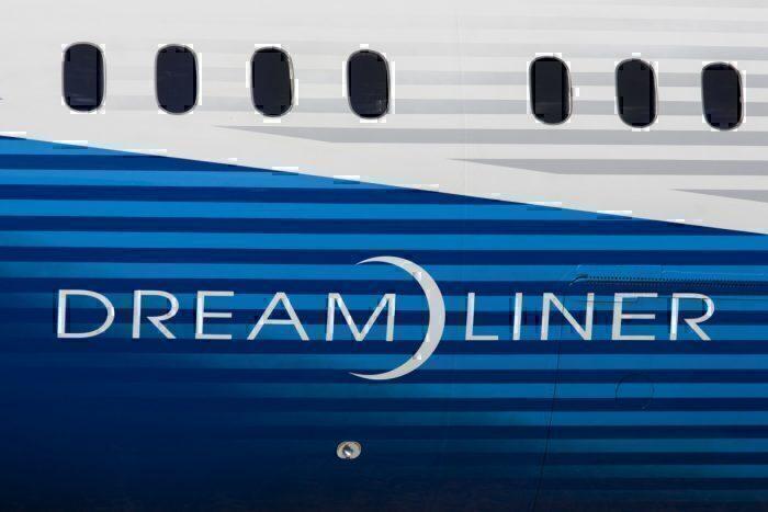 Boeing 787 windows
