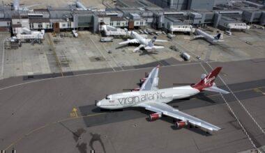 Virgin Atlantic 747