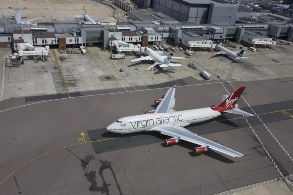 Virgin Atlantic Heathrow Getty Images
