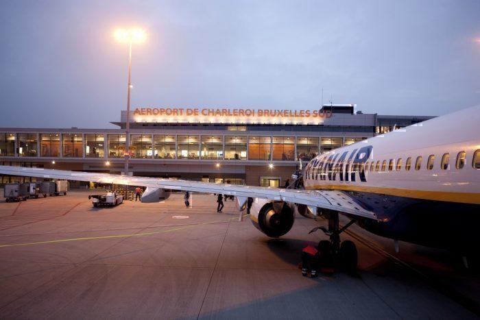 Ryanair at Brussels airport