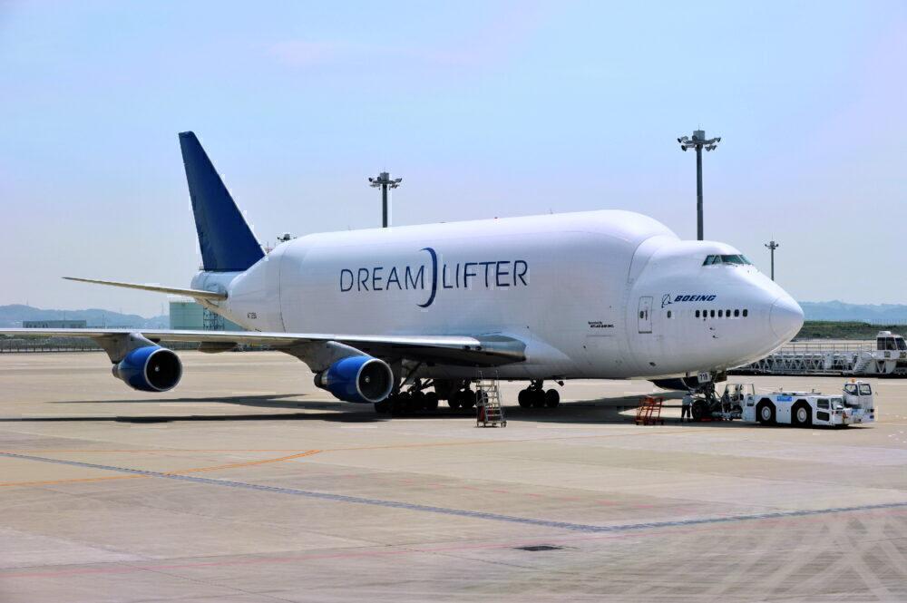 Boeing 747 Dreamlifter Getty