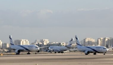 El Al grounded getty images