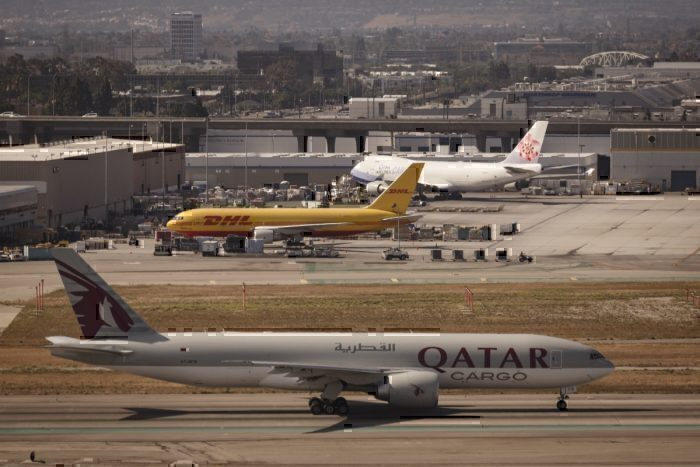 777 and 747 freighters