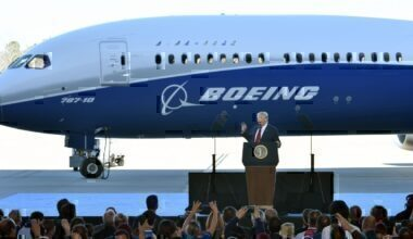 Boeing Trump Getty Images