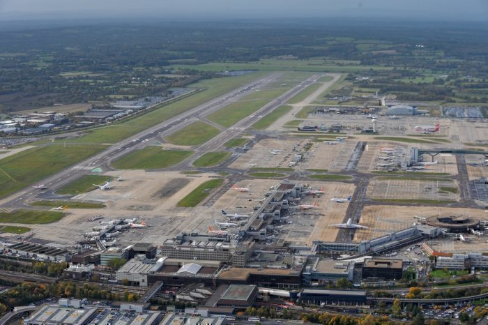 Gatwick aerial view