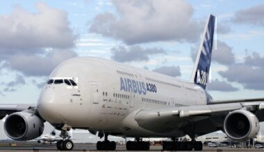 A380, Airbus Getty