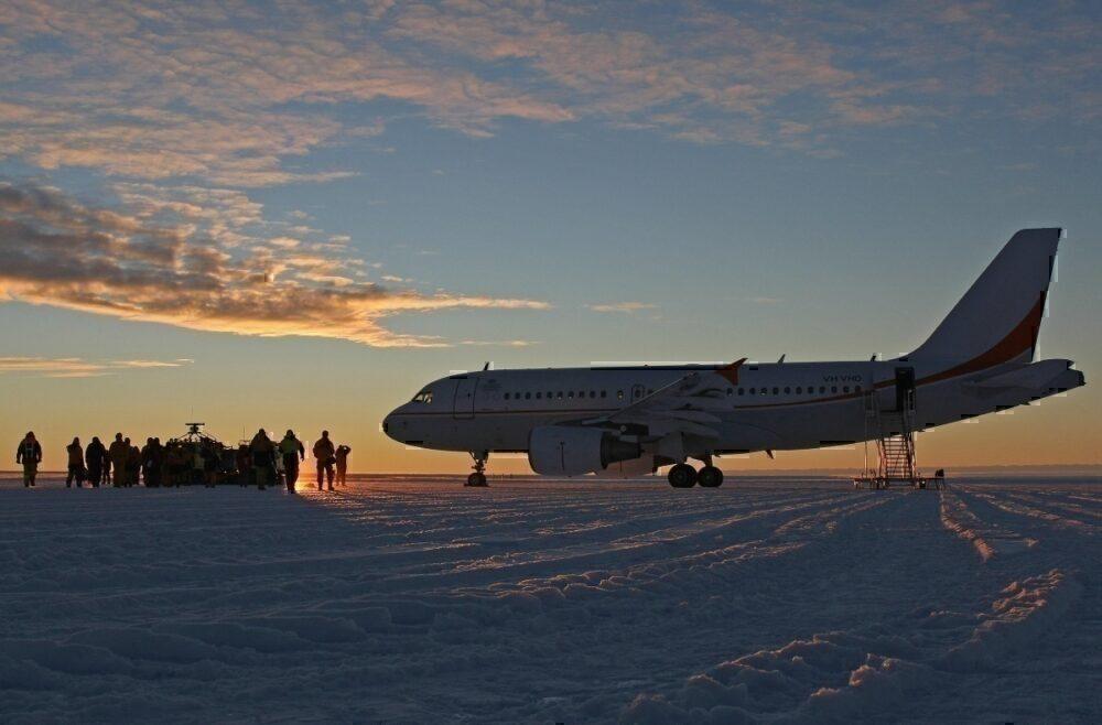 blue-ice runway antarctica
