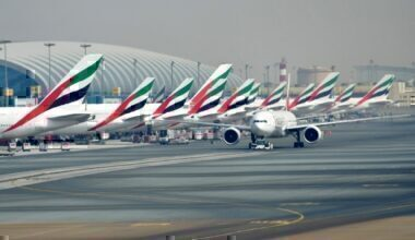 Emirates suspend operations getty images