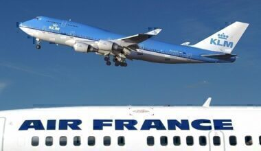 Air France KLM shares getty images