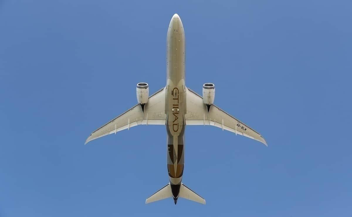 Etihad B787 Dreamliner