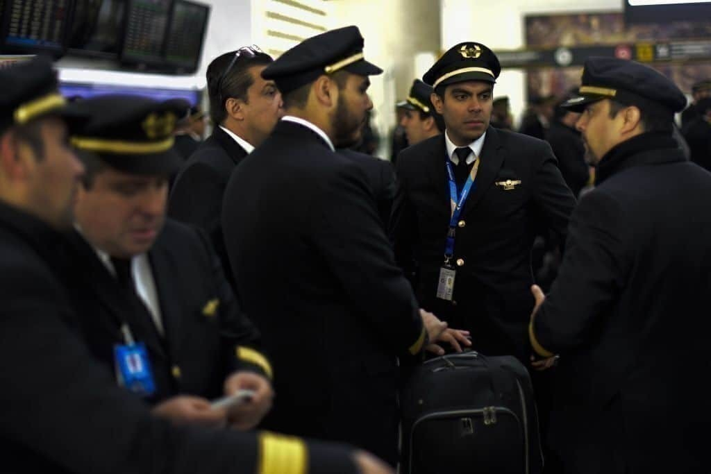 Aeromexico pilots Getty