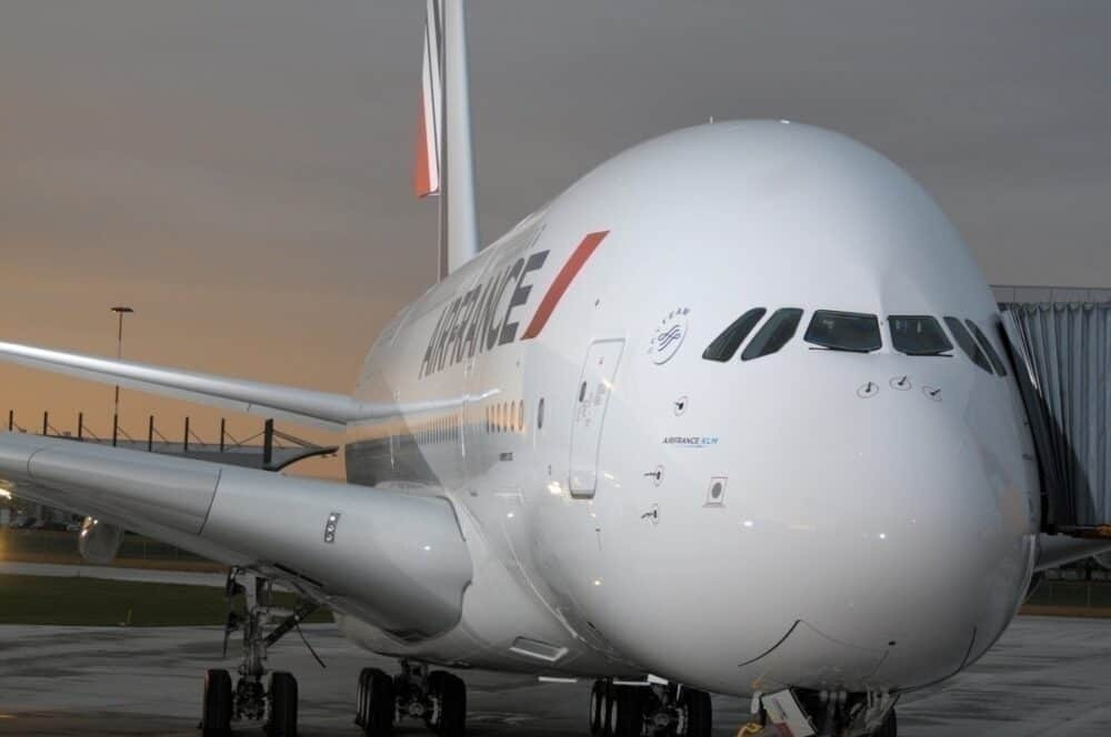 Air France Airbus A380, KLM Boeing 747, Grounded