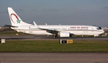 Royal Air Maroc plane getty images