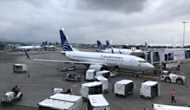 Copa Airlines jets at Tocumen International
