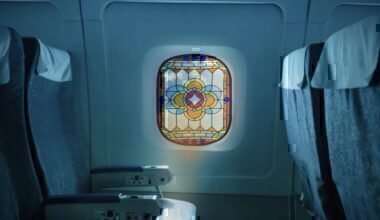 Stained Glass Window, Boeing 787, Window Cover