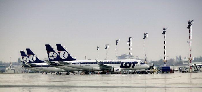 LOT Polish Airlines fleet