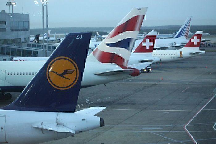 BA, Lufthansa, SWISS tail lineup