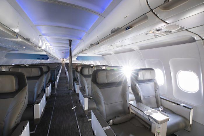 First Class Alaska Airlines