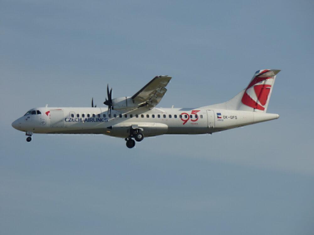 Czech ATR 72 Frankfurt