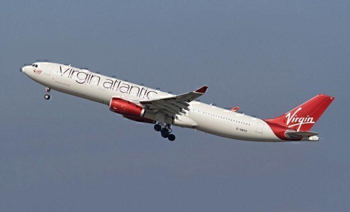 Virgin Atlantic Airbus A330 Landing Gear Fails To Retract