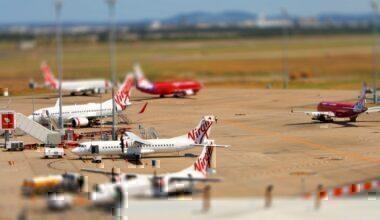 Virgin_Australia_Brisbane_Airport_tilt-shift