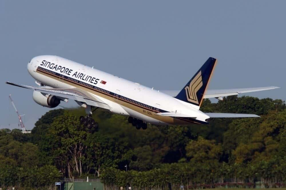 Singapore Airlines 777-200ER
