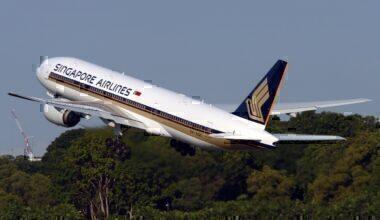 Singapore Airlines 777-200ER