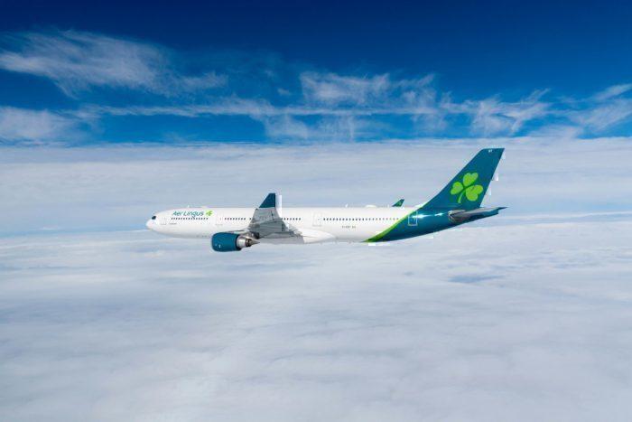Aer Lingus, Airbus A330, Bird Strike