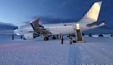 AAD A319 in Antarctica