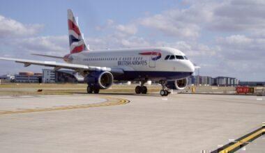 British Airways, Airbus A318, BA1