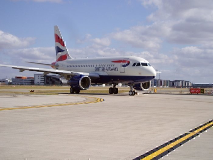 British Airways, Airbus A318, BA1