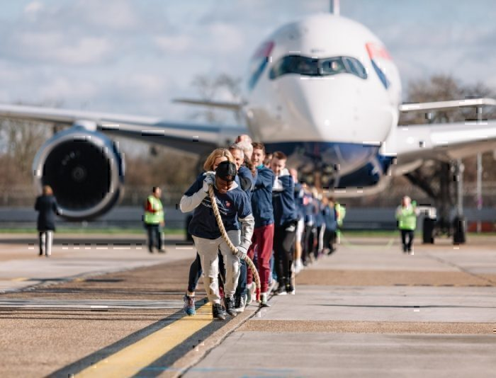 British Airways, Airbus A350, World Record
