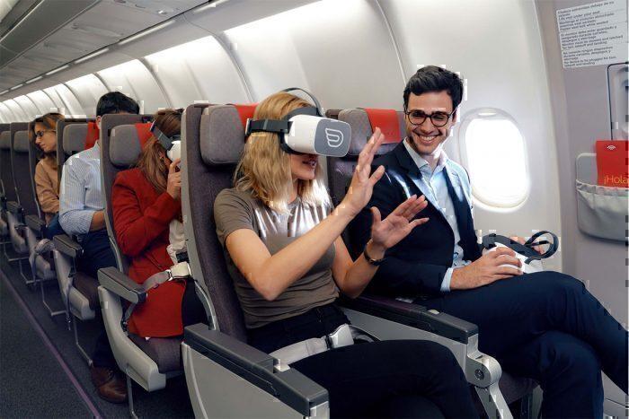 Qatar Airways busca realidade virtual como entretenimento em voo