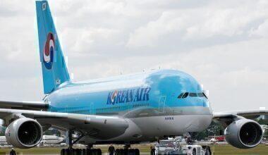 Korean Air Airbus Runway
