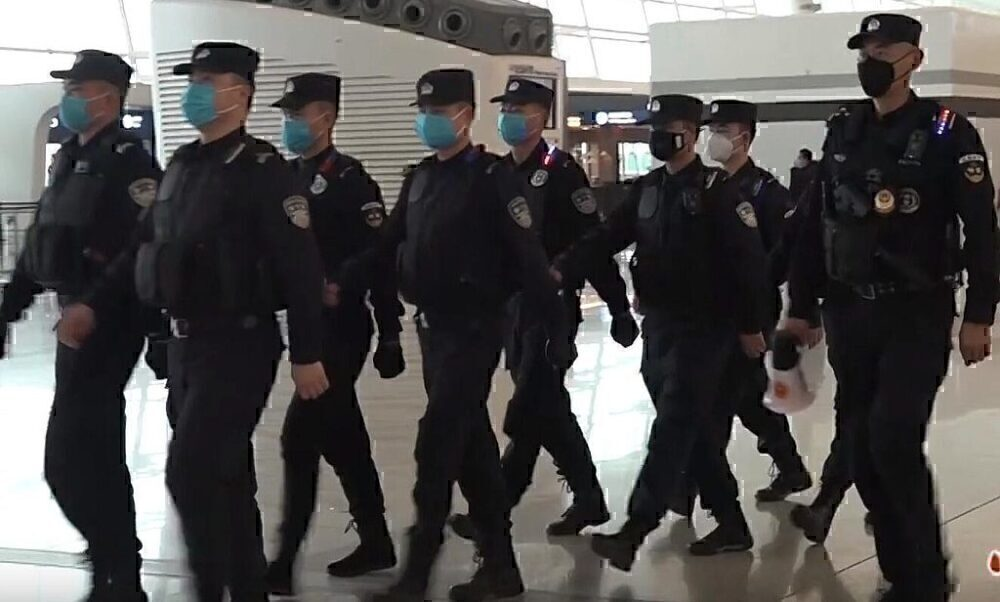 Wuhan Police Patrols