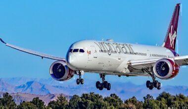 787-9 Dreamliner Virgin