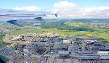 Stuttgart plane view