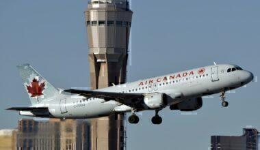 Air Canada first A320