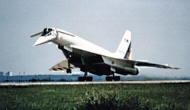 Tu-144 supersonic