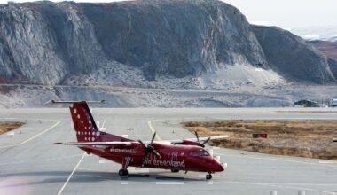 Air Greenland Dash-8 record flight