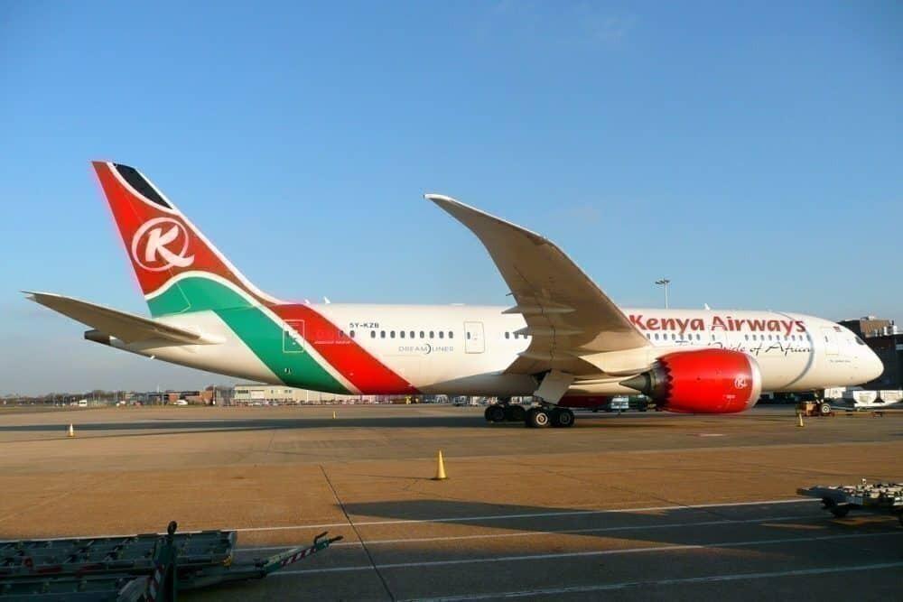Kenya Airways converts 787 for cargo