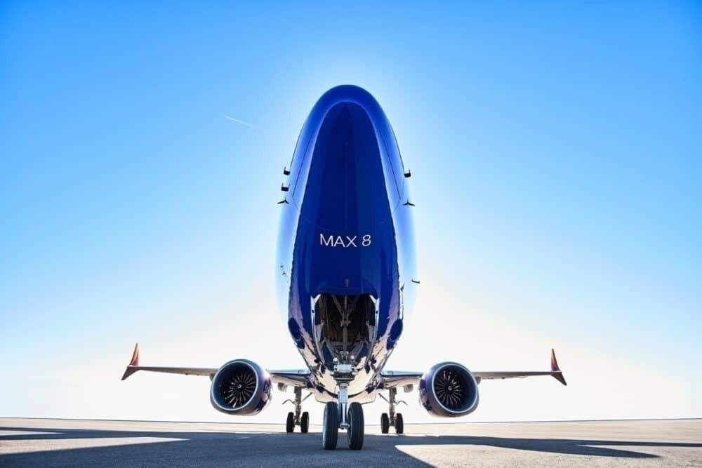 Southwest MAX underside