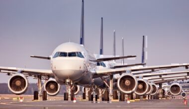 Lufthansa, Grounded Aircraft, Frankfurt
