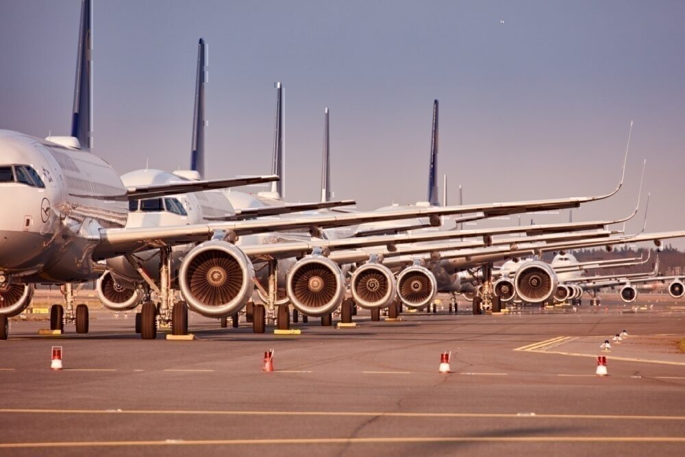 Lufthansa, Grounded Aircraft, Frankfurt