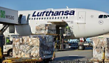 Lufthansa, Airbus A330, Cargo Aircraft