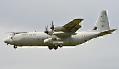 Indian Air Force Lockheed C-130J